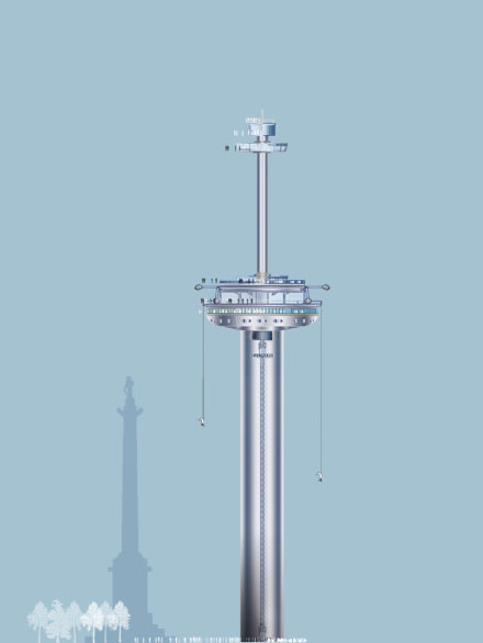 entry level vertical theme park tower design